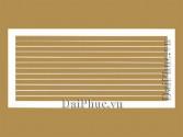 Miệng gió 1 lớp nan ngang (HSAG) Horizontally Single Air grille