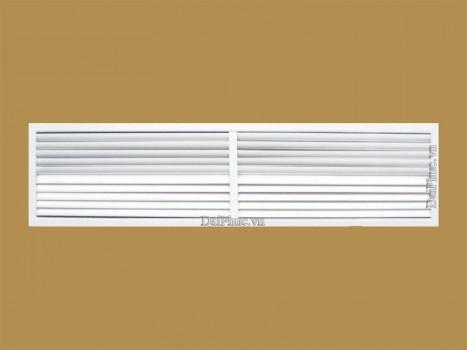 Cửa gió nan cong 2 hướng (AGL - 2WAY) Air grille louvre