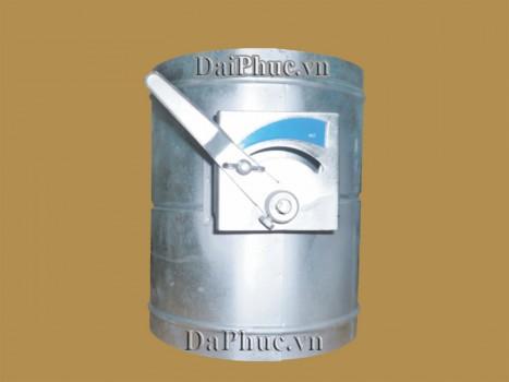 Van gió tròn tay gạt - Round Volume Controll Damper