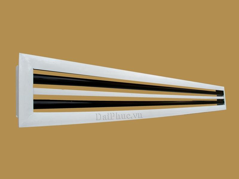 Cửa gió kiểu khe 2 Slot (SLD) - Slot linear Diffuser | Đại